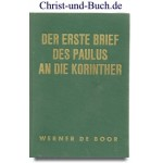 Wuppertaler Studienbibel 1. Korinther Brief, Werner de Boor